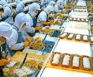 日本千葉県食品加工职(饺子)