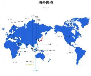 日本海外营业正社员职