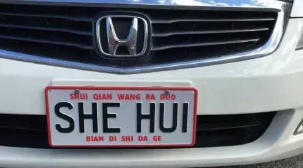 笑死了!新西兰允许自定义车牌号码,然后就被中国人玩坏了...